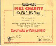 Charity fun run